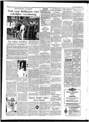 Rotterdamsch Parool / De Schiedammer 1955-08-06