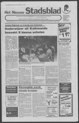 Het Nieuwe Stadsblad 1981-07-01