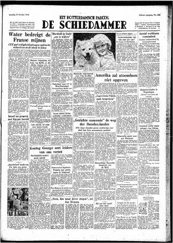 Rotterdamsch Parool / De Schiedammer 1948-10-19