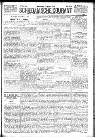 Schiedamsche Courant 1927-04-20
