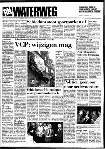Rotterdamsch Nieuwsblad / Schiedamsche Courant / Rotterdams Dagblad / Waterweg / Algemeen Dagblad 1987-02-24