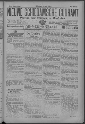 Nieuwe Schiedamsche Courant 1918-06-04