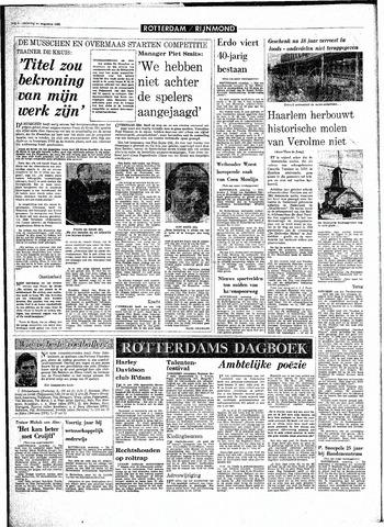 Rotterdamsch Parool / De Schiedammer 1968-08-31