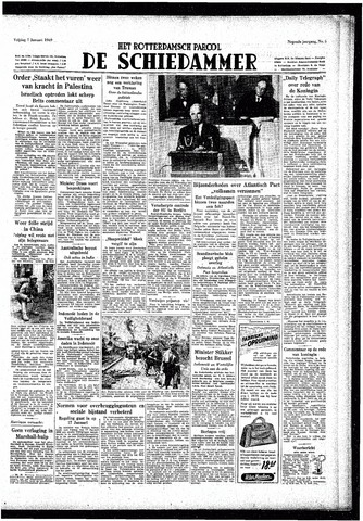 Rotterdamsch Parool / De Schiedammer 1949-01-07