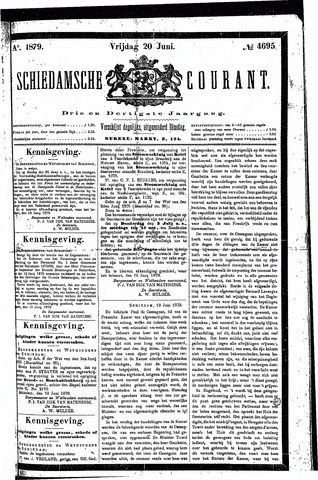 Schiedamsche Courant 1879-06-20