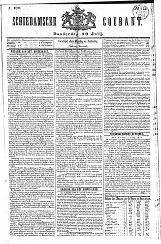 Schiedamsche Courant 1862-07-10