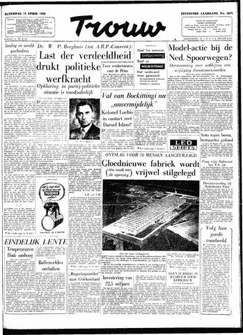 Trouw / De Rotterdammer 1958-04-19