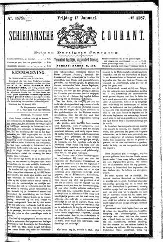 Schiedamsche Courant 1879-01-17