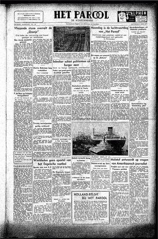 Rotterdamsch Parool / De Schiedammer 1947-04-05