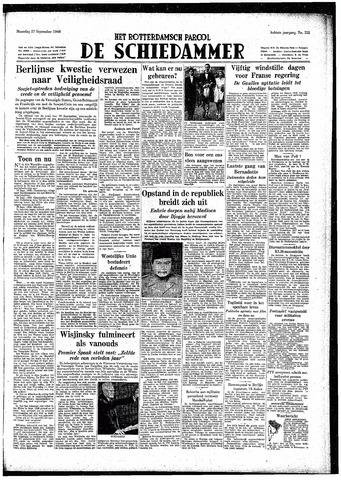 Rotterdamsch Parool / De Schiedammer 1948-09-27