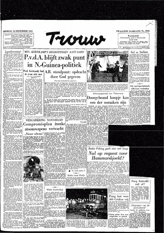 Trouw / De Rotterdammer 1954-12-14