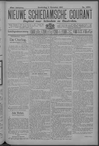 Nieuwe Schiedamsche Courant 1917-11-08