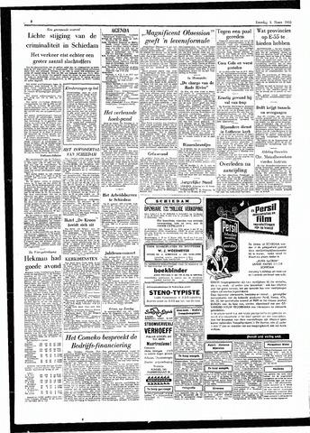 Rotterdamsch Parool / De Schiedammer 1955-03-05