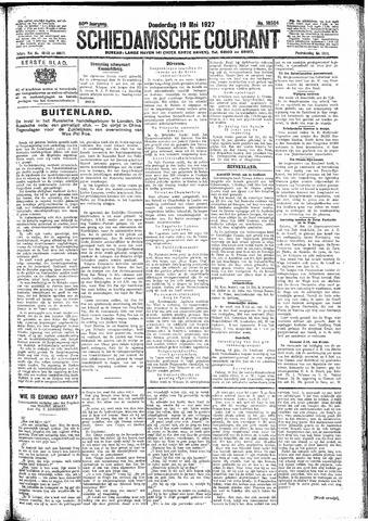 Schiedamsche Courant 1927-05-19