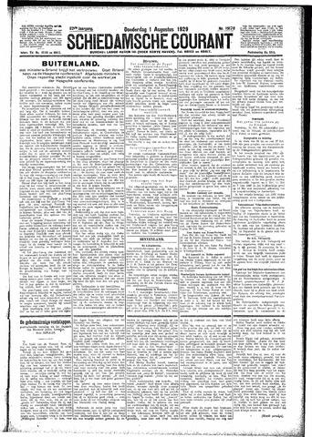 Schiedamsche Courant 1929-08-01