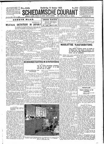 Schiedamsche Courant 1933-10-12