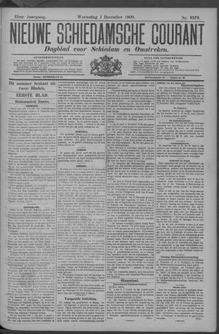 Nieuwe Schiedamsche Courant 1909-12-01