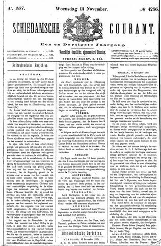 Schiedamsche Courant 1877-11-14