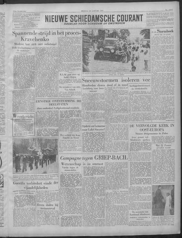 Nieuwe Schiedamsche Courant 1949-01-25