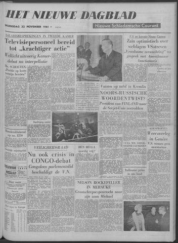 Nieuwe Schiedamsche Courant 1961-11-22