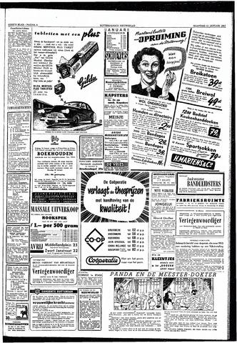 Rotterdamsch Nieuwsblad / Schiedamsche Courant / Rotterdams Dagblad / Waterweg / Algemeen Dagblad 1953-01-12