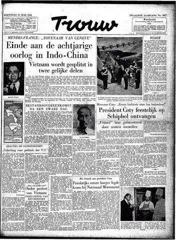 Trouw / De Rotterdammer 1954-07-21