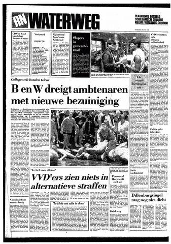 Rotterdamsch Nieuwsblad / Schiedamsche Courant / Rotterdams Dagblad / Waterweg / Algemeen Dagblad 1985-06-18