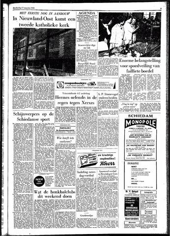 Rotterdamsch Parool / De Schiedammer 1961-08-17