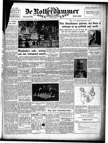 Trouw / De Rotterdammer 1953-09-22