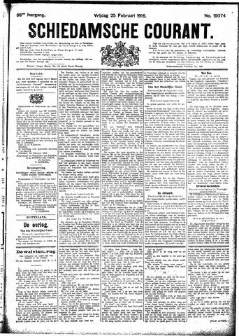 Schiedamsche Courant 1916-02-25