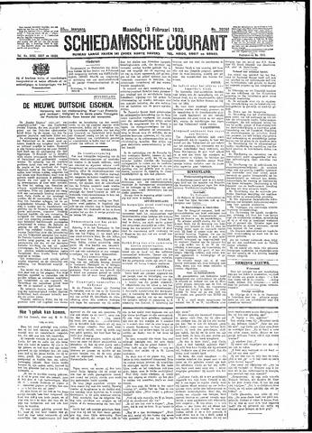 Schiedamsche Courant 1933-02-13