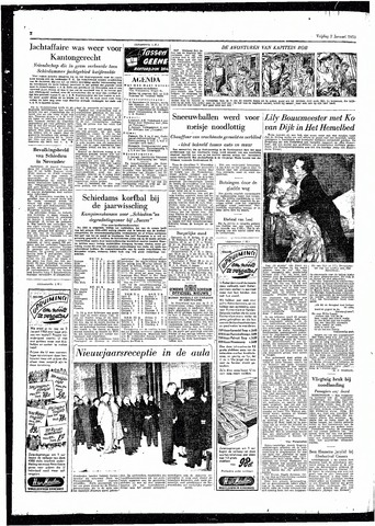 Rotterdamsch Parool / De Schiedammer 1953
