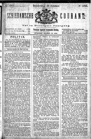Schiedamsche Courant 1881-10-20