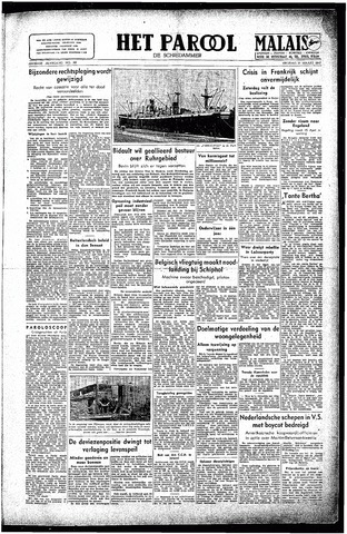Rotterdamsch Parool / De Schiedammer 1947-03-21