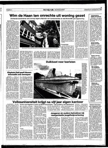 Het Vrije volk 1990-08-21