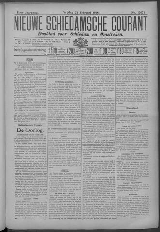Nieuwe Schiedamsche Courant 1918-02-22