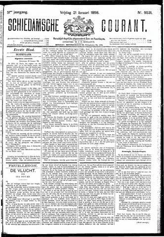Schiedamsche Courant 1898-01-21