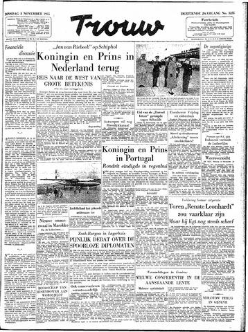Trouw / De Rotterdammer 1955-11-08
