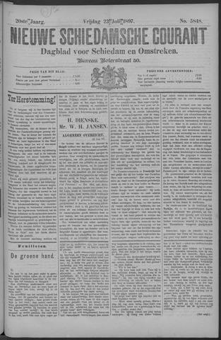 Nieuwe Schiedamsche Courant 1897-07-23