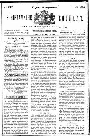 Schiedamsche Courant 1877-09-21