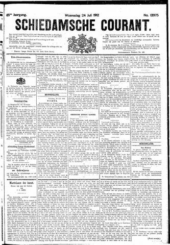 Schiedamsche Courant 1912-07-24