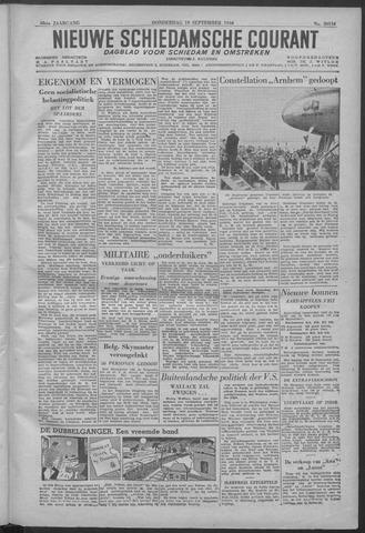 Nieuwe Schiedamsche Courant 1946-09-19