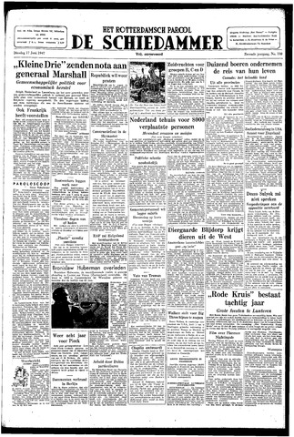 Rotterdamsch Parool / De Schiedammer 1947-06-17