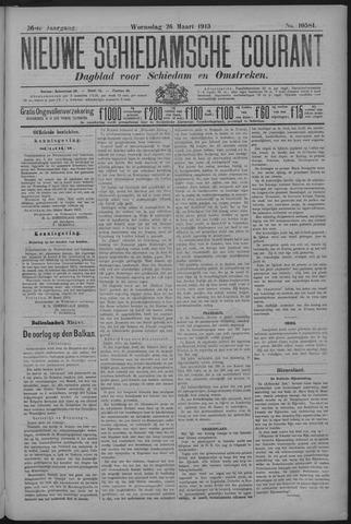 Nieuwe Schiedamsche Courant 1913-03-26