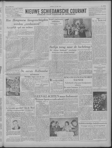 Nieuwe Schiedamsche Courant 1949-05-20