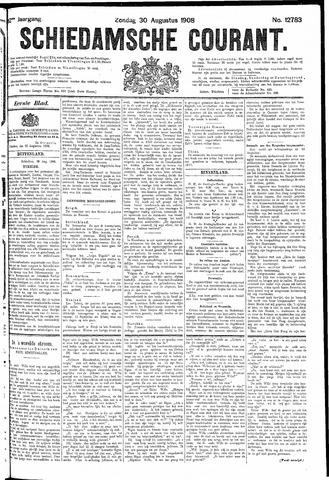 Schiedamsche Courant 1908-08-30