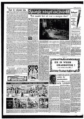 Rotterdamsch Parool / De Schiedammer 1957-06-07