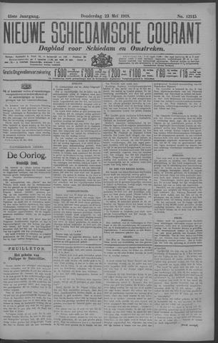 Nieuwe Schiedamsche Courant 1918-05-23