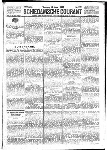 Schiedamsche Courant 1927-01-19