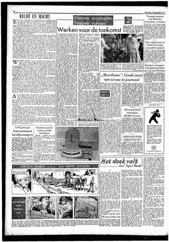 Rotterdamsch Parool / De Schiedammer 1957-09-10